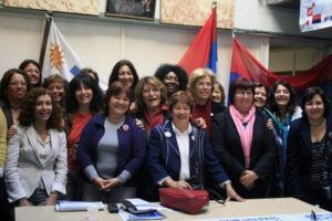mujeres parlamento