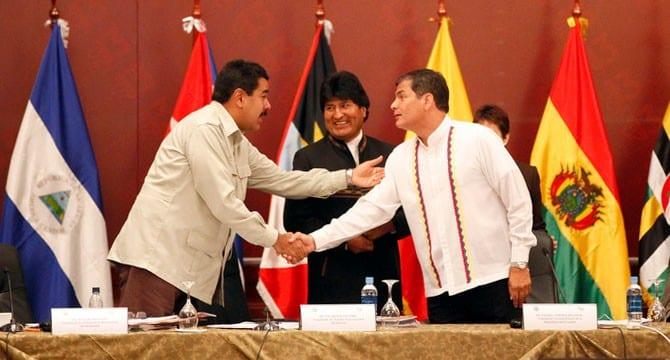 Pai ses del ALBA reafirman un nuevo modelo de desarrollo social de los pueblos