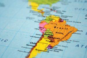 map latin america