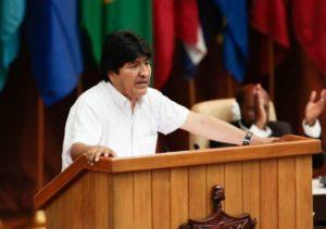 Evo Morales foro