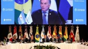 Cumbre Mercosur Argentina Macri 1920 11 1