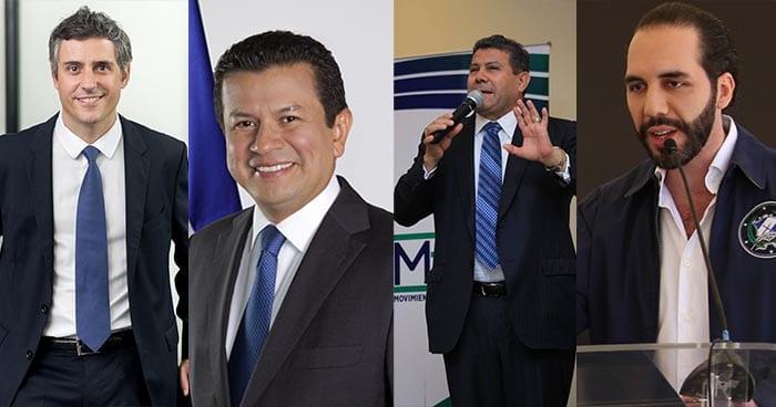 Candidatos Presidencia El Salvador 2019