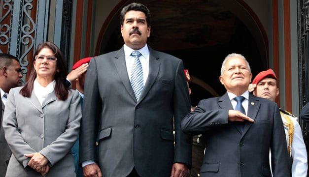 Salvador Sanchez Ceren Nicolas Maduro 1