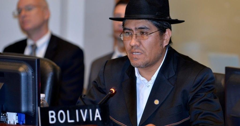 Diego Pary es el nuevo canciller de Bolivia 1