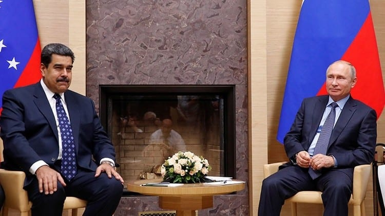 Nicolas Maduro Vladimir Putin 1