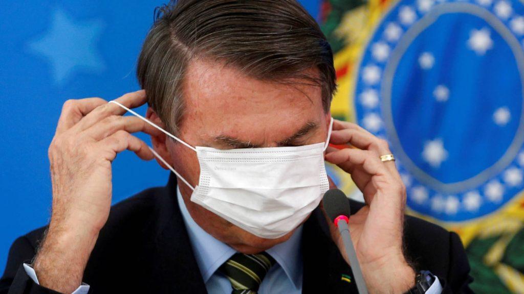 bolsonaro exige lealtad a sus ministros por el virus y dice que el desempleo tambien mata
