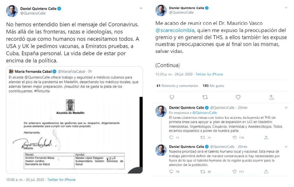 Colombia -Alcalde-Medellin