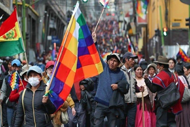 Protestas Bolivia 2