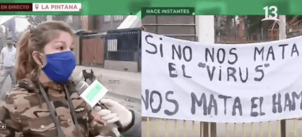 Демонстрация в Чили