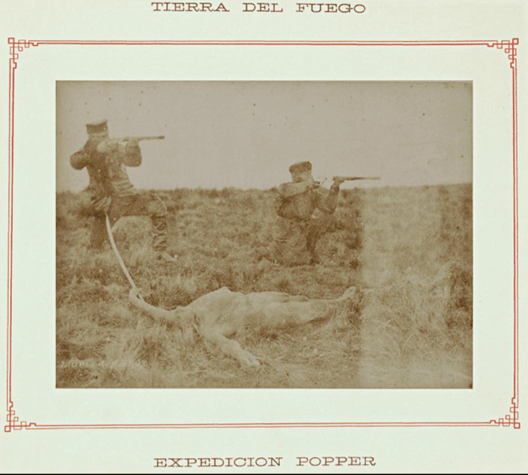 Julius Popper's expedition