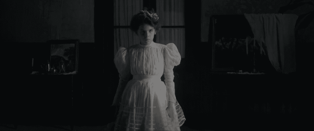 Shot from the film