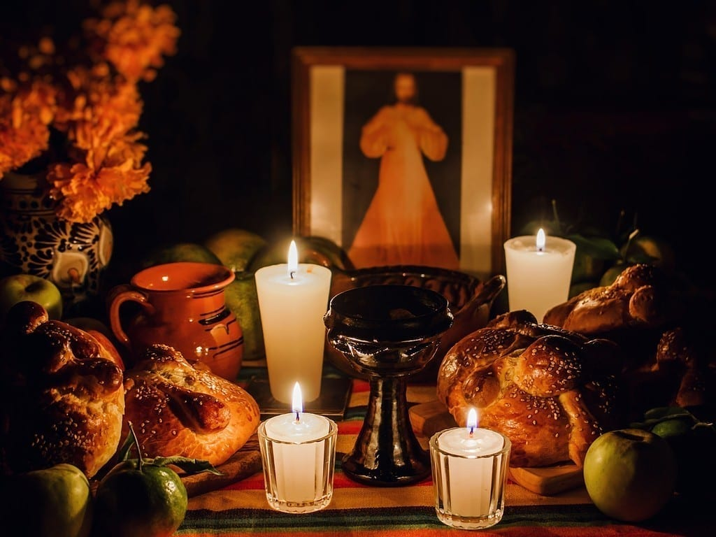 Altar on Day of the dead