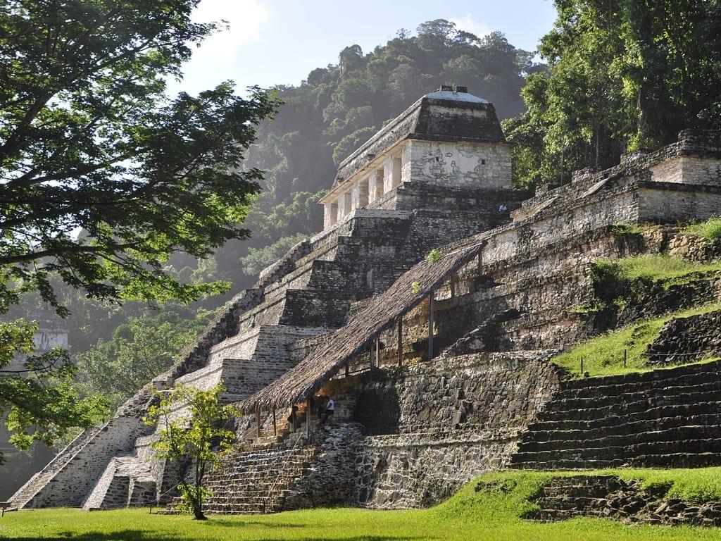 Ruins of Palenque, Yucatan, Mexico.