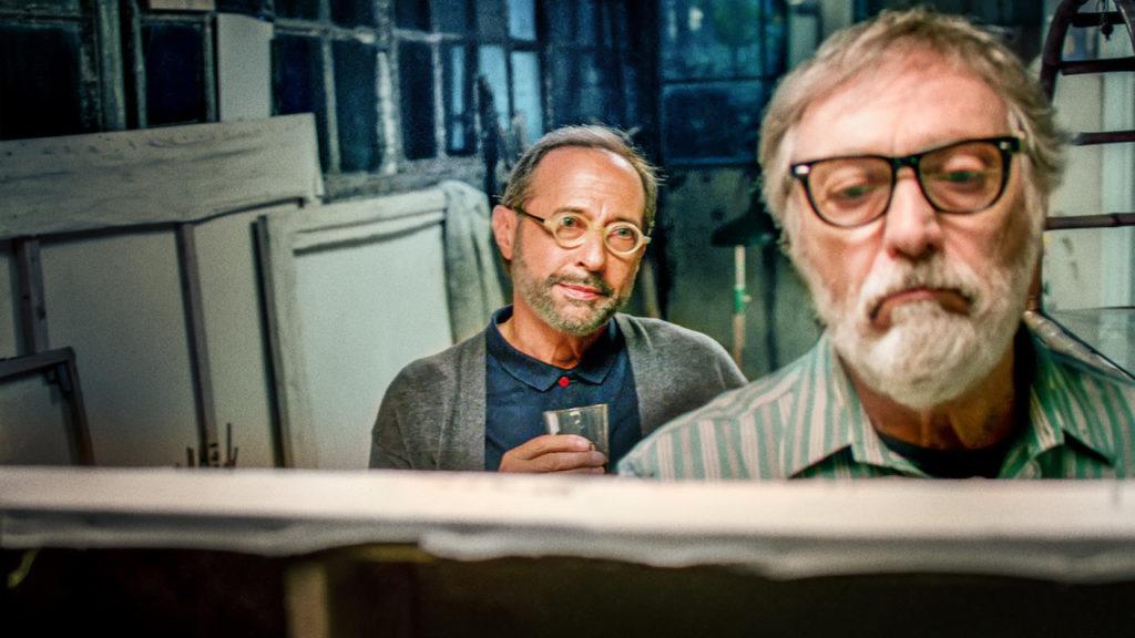 Arturo y Renzo. Fotograma de la película.